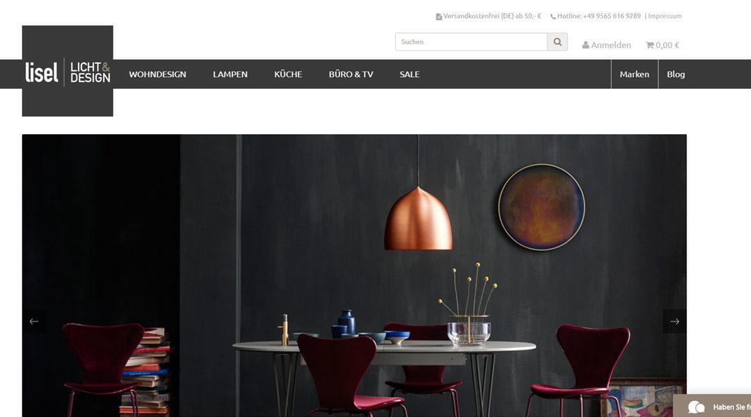 Shop Relaunch von Lisel.de