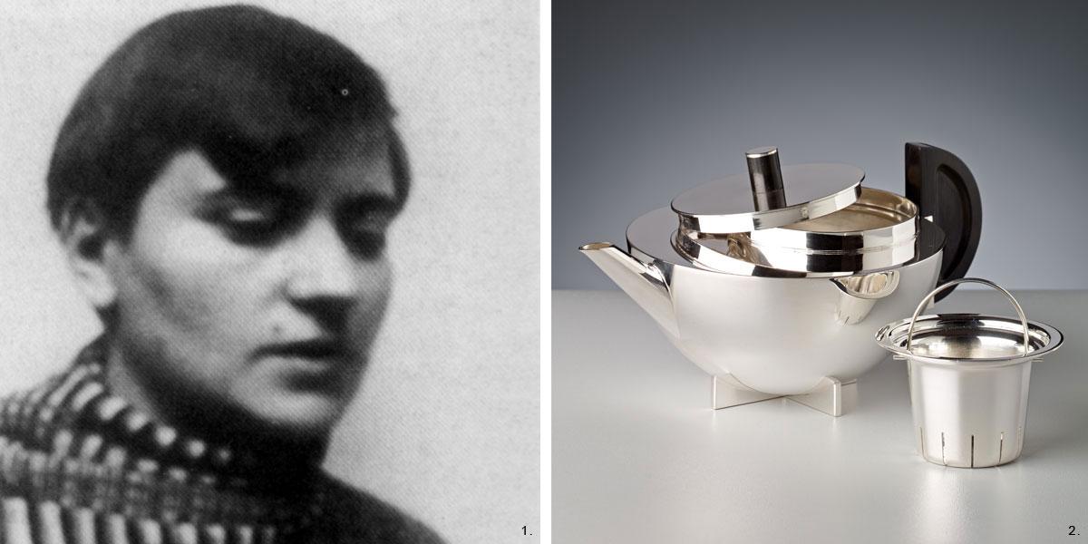 1. Marianne Brandt / 2. Brandt Silberwaren
