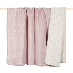 Decke Dot Dusty Pink von PAD