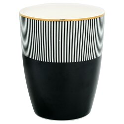 Becher Corine Black von Gate Noir by Greengate
