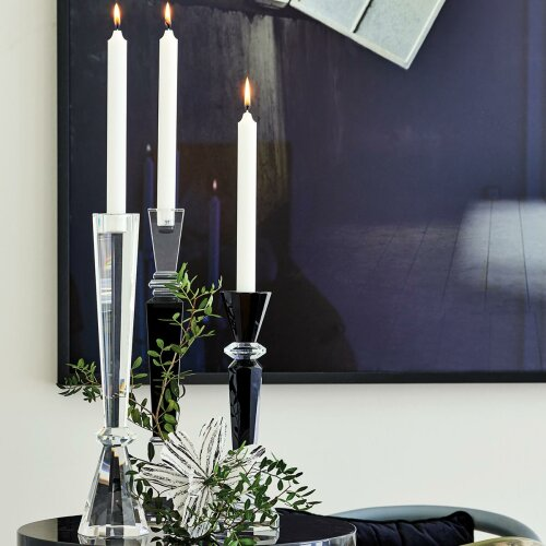 Kerzenhalter Crystal Square Black L von Gate Noir by Greengate