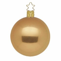 Christbaumkugel Colour Bronze metallic 8cm von INGE-GLAS®